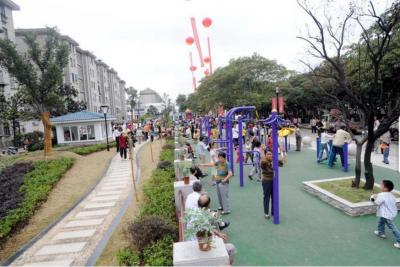 江苏今年建成较大规模体育公园700个 健身设施成标配!