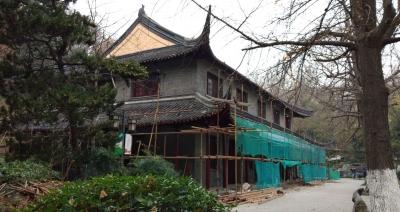 五卅演讲厅修缮进入尾声 这幢民国老建筑的功能也在不断延伸着……