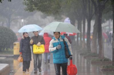 江苏未来一周多阴雨天气,苏南周末可能有降雪