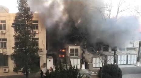 北交大东校区2号楼环境工程实验室发生爆炸,致3名学生死亡