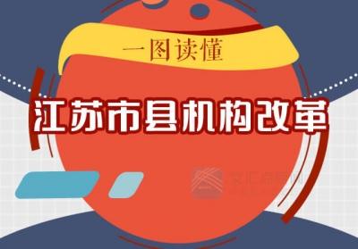 一图读懂 | 重磅!江苏市县机构改革将这么改