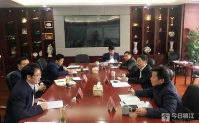 张叶飞在市政府2019年工作调研座谈会上强调:全力推动镇江高质量发展迈上新台阶