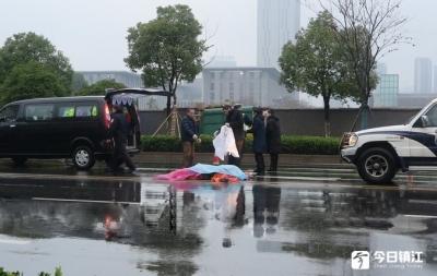 九华山路发生交通事故 一环卫工不幸被撞身亡