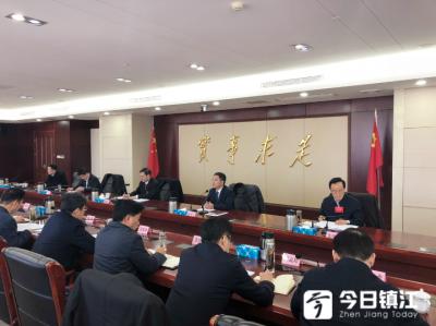 镇江市委七届八次全会举行分组讨论
