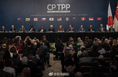 """11国构建新""""朋友圈""""——""""无美国版TPP""""正式生效"""