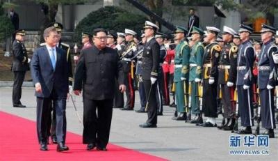 朝鲜和韩国的官员今天早上聚到一起,恢复了一个中断11年的工程