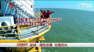 【改革开放四十年】潮起扬子江·盐城:绿色发展 向海而兴