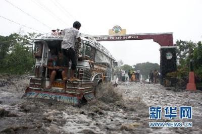 菲律宾强降雨遇难人数升至122人 另有28人失踪