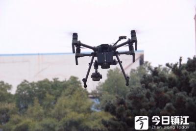 """镇江新区安全环保监管启用无人机  空中""""眼睛""""紧盯安全清洁生产"""