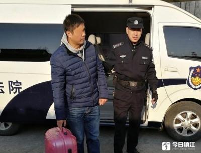 """镇江润州:公开悬赏后,""""老赖""""在火车站被抓"""