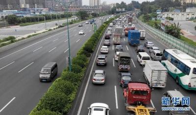 公路服务指南导航春节出行路 预计易拥堵路段为G104、G346、G523、S338