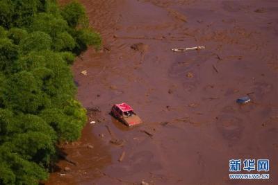 巴西矿坝决堤事故死亡人数升至9人 约300人失踪