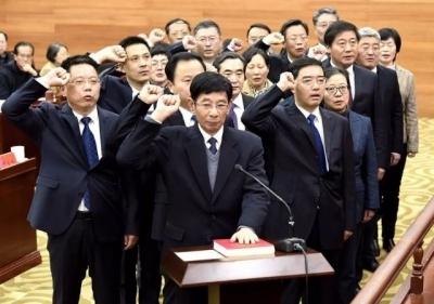 镇江市人大常委会表决通过有关人事任免