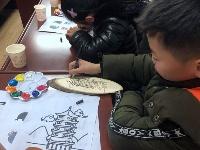 """西苑社区开展""""趣味绘画看镇江""""活动"""