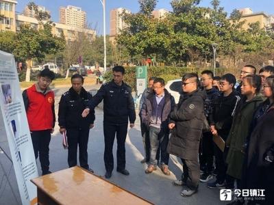 禁放烟花爆竹宣传教育实践活动走进江苏大学