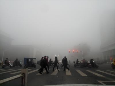 大雾提醒!