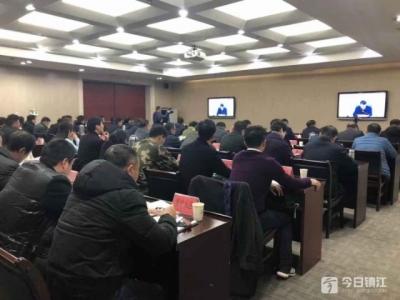 """镇江新区新年 """"蓝天保卫战""""首战告捷"""