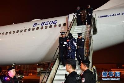 191名电信网络诈骗犯罪嫌疑人从老挝被押解回国