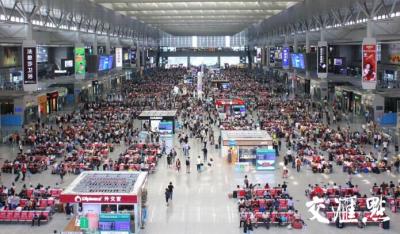 元旦小长假长三角铁路发送旅客864.5万人次,同比增长3.8%