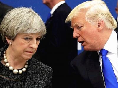 """这个全球政要聚首的会议,美英法三国领导先后""""请假"""""""