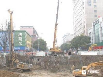 丹阳一批城建重点工程稳步推进