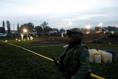 墨西哥输油设施爆炸事件死亡人数升至66人