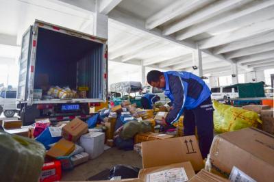 这里面有你寄送的快递吗?春节期间江苏省投递包裹360万件!