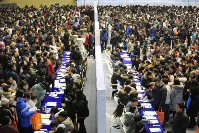 """2019""""春风行动""""大型招聘会成功举办 984家企业提供就业岗位29378个"""