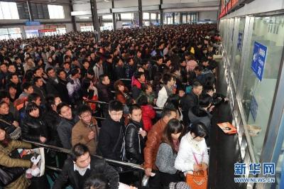 长三角铁路17日预计发送旅客186万人次