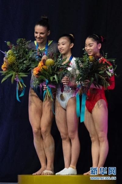 体操世界杯墨尔本站收官 中国队再获两金