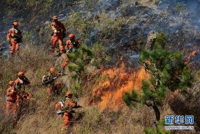 木里森林火灾新发现一名扑火人员遇难