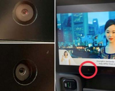 """坐飞机可能随时被""""监视""""?航班座椅上的摄像头引争议"""