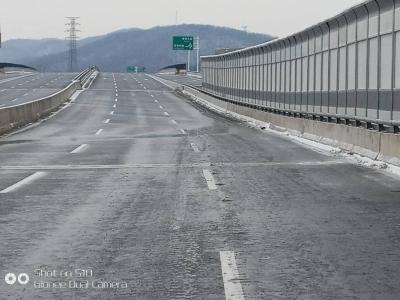 提醒!五凤口高架桥面及匝道有薄冰