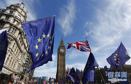"""英国首相将赴欧盟进行""""脱欧""""协议谈判"""