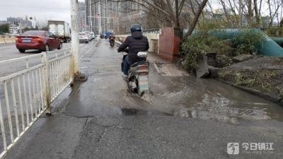 谷阳路南段路面破损严重 相关部门回应:改造计划待定