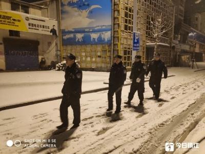 春节期间,新区禁放区域未响一炮