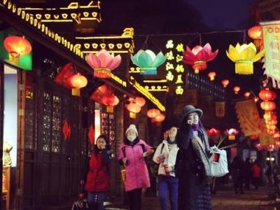 西津渡灯会落灯 共接待游客近50万人次