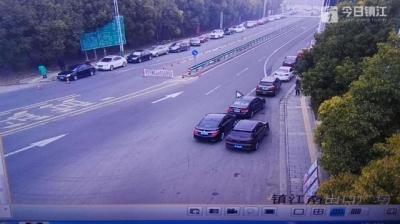 实时!浓雾影响高速行车 沪蓉高速镇江段车多缓行