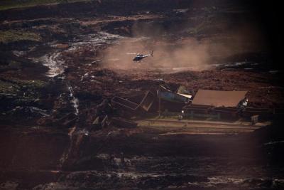 巴西溃坝事故遇难人数升至110人 238人失踪