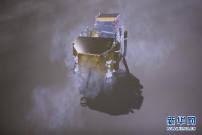 美飞行器再次为嫦娥四号成像 拍到玉兔二号