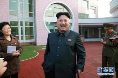 朝鲜发行金正恩访华纪念邮票