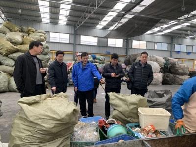镇江市城管局赴上海调研垃圾分类工作
