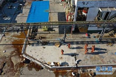 王勇率国务院有关部门负责同志赴江苏响水指导事故救援和应急处置