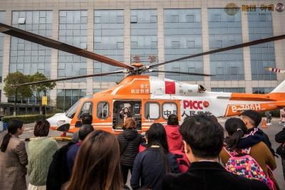 大事件,镇江首个引入空中救援服务的社区落户御园