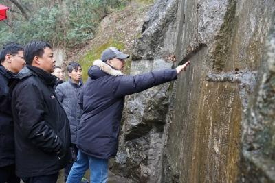 焦山碑林摩崖石刻保护工程启动