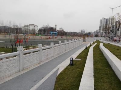 虹桥港湿地公园基本建成