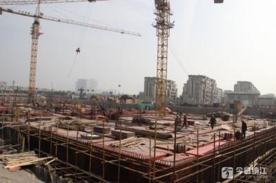不给安全隐患留空隙  镇江新区对建筑工地开展复工安全检查