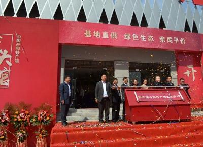 努力打造丹阳农产品品牌 中国丹阳特产馆隆重开馆