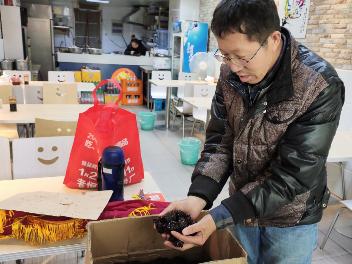 后续:枣子销售点转至江滨新村附近东吴路