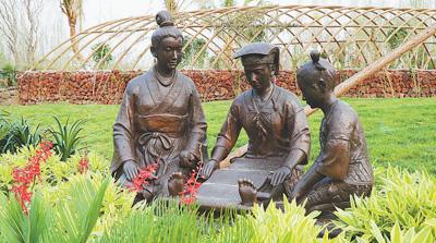 海南园:海岛风情 椰风扑面(北京世园会风采)